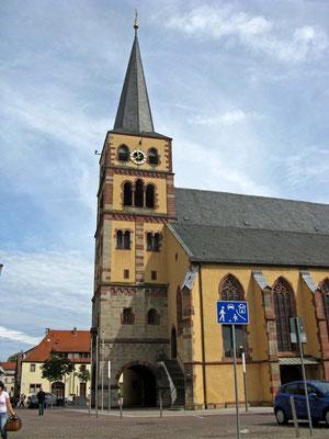 © Traudi  -  katholische Stadtpfarrkirche St. Andreas.  Die ältesten Bauteile dieser Kirche gehen auf die Zeit unmittelbar nach der Stadtgründung zurück.