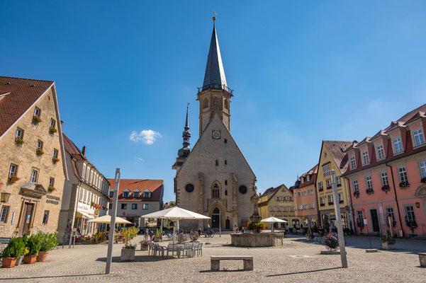 © Traudi - Die Stadtkirche St. Georg ist ein spätgotischer Bau (1419/25)