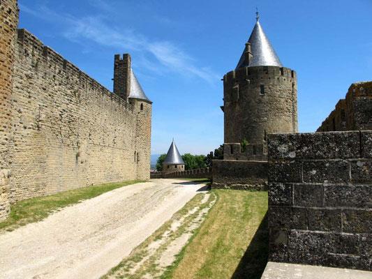 Carcassonne, zwischen den Mauern – © Traudi