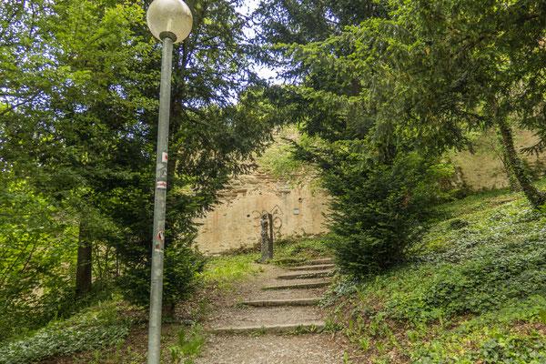 © Traudi - 2019 - Hier gehts hinauf zur Schlossruine