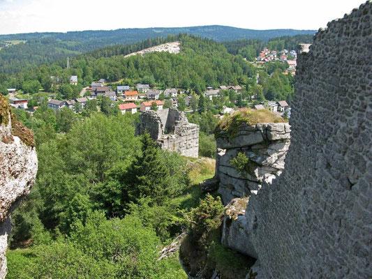 © Traudi - Burgruine Flossenbürg - Juli 2014