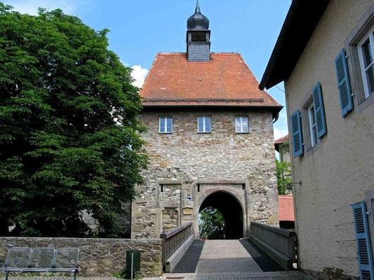 © Traudi – Burg Hohenberg, Zugbrücke