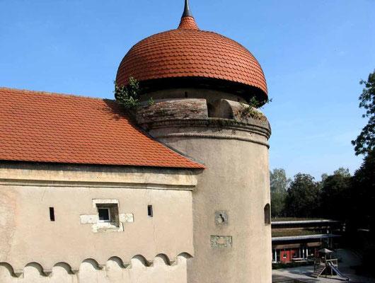 Nördlingen, Reißturm, wurde 1644 zum Geschützturm umgebaut - © Traudi