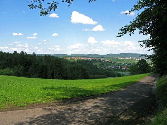 © Traudi – Blick vom Elisabethenberg nach Lorch
