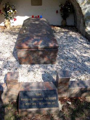 Das Grab Sauniérs  - © Traudi