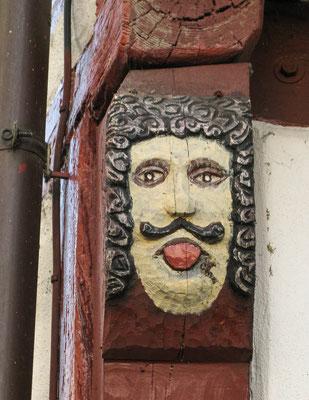 """© Traudi - Neidkopf am """"Haus auf der Mauer"""""""