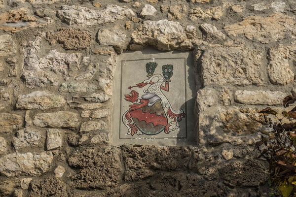 © Traudi - Wappen der Burg Niedergundelfingen
