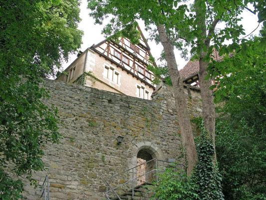 Kloster Bebenhausen, Aufgang durch die Mauer,  23.08.2012  -  © Traudi