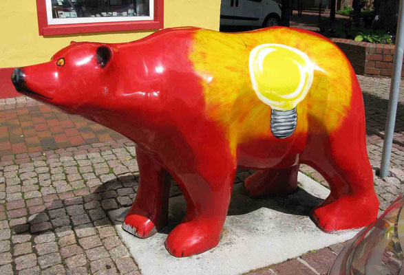 © Traudi – der Glühbirnen-Bär