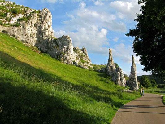 © Traudi – Eselsburger Tal - die Steinernen Jungfrauen