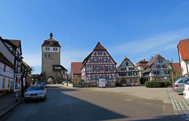 © Traudi - Stadtturm und Marktplatz