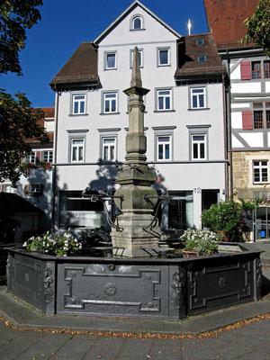 © Traudi  -  Brunnen am Hafenmarkt