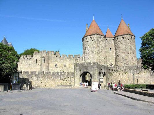 Carcassonne, Porte Narbonnaise – © Traudi