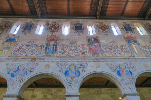 © Traudi -Wer die Johanneskirche betritt, ist beeindruckt von der Ausmalung des Chorraums.