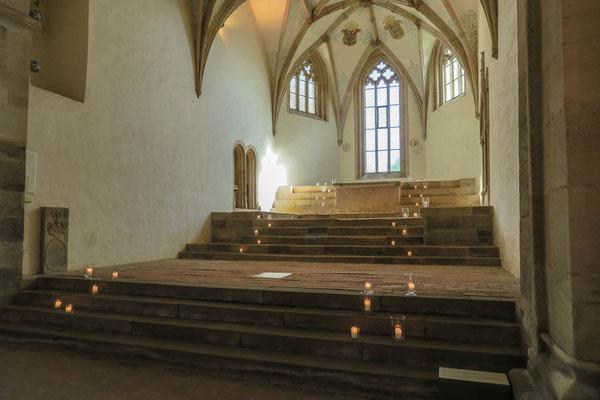© Traudi - 2021 - Der Chor der Klosterkirche
