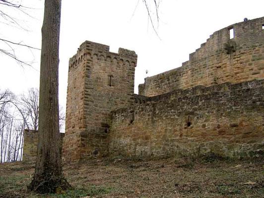 Foto 2005 (c) Traudi / Wehrturm außerhalb der Mauern
