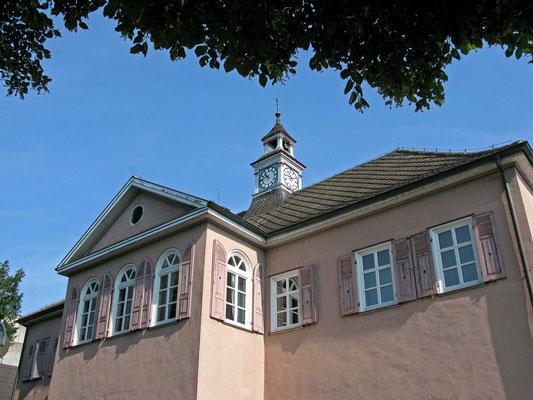 © Traudi - Altes Rathaus in Altbach, Rückseite