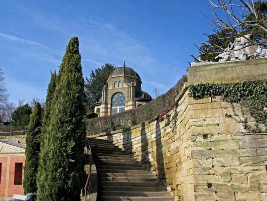 © Traudi - Aufgang zum Belvedere