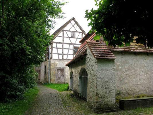 © Traudi  -  Kloster Heiligkreuztal, Josefshäusle und Remise der Äbtin
