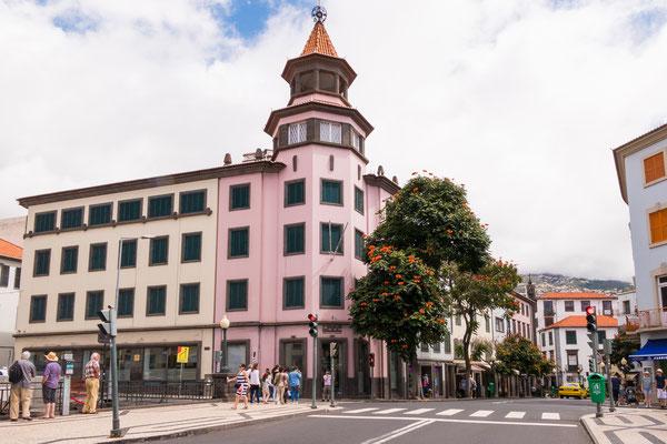 Ook een modern gedeelte in Funchal