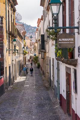 Funchal herbergt vele restaurantjes