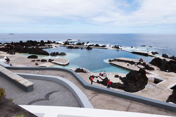 Natuurlijk zwembad van Porto Moniz