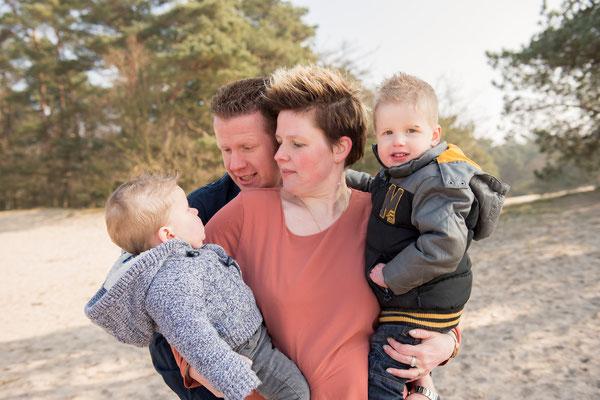 familieshoot Soester Duinen, Soest