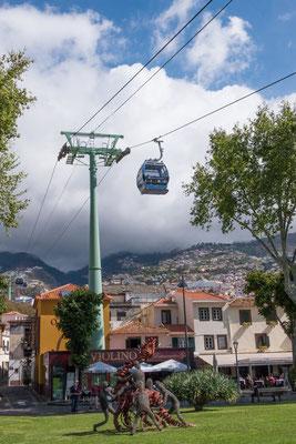 De kabelbaan van Funchal naar Monte, Madeira