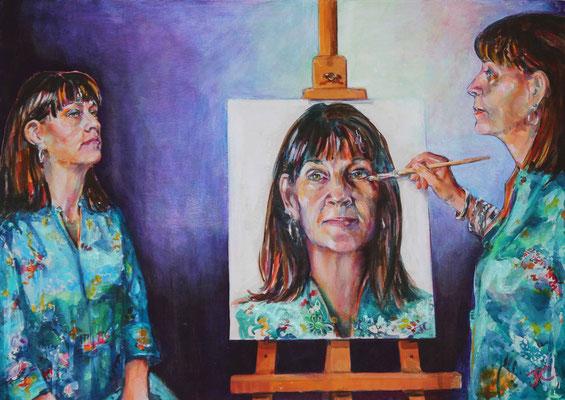 Jackie Cowdrey 'The 3 me's'