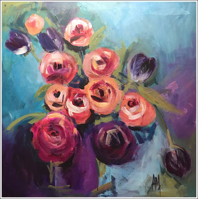 Andrea McIver 'pinks and purples'