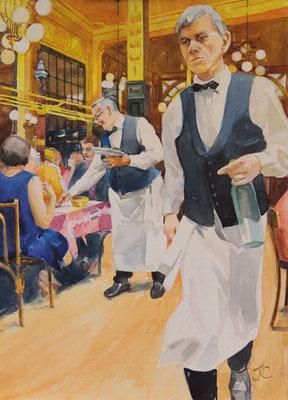 Jackie Cowdrey 'Chartiers, Paris'