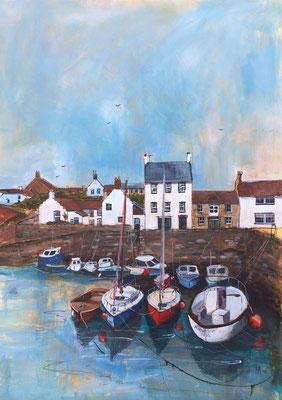 Andrea McIver'Crail Harbour I'