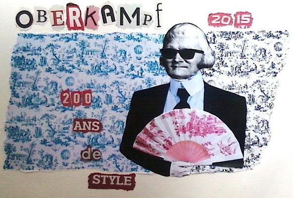 """Oberfeld"" collage bicentenaire Oberkampf  (2014)"