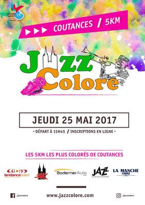 affiche jazz colore 2017