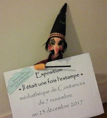 expo médiathèque de Coutances novembre 2017
