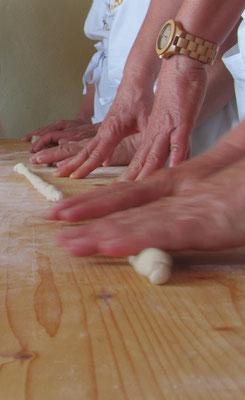 Brot & Leben, Backkurs bei einer lieben Feundin