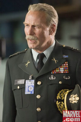 "William Hurt als General Thaddeus ""Thunderbolt"" Ross"