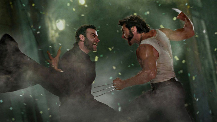 Sabretooth/Victor Creed vs. Wolverine/Logan