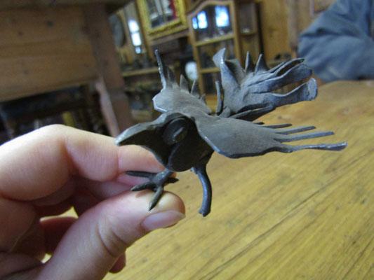 Uccellino di un vecchissimo cucù