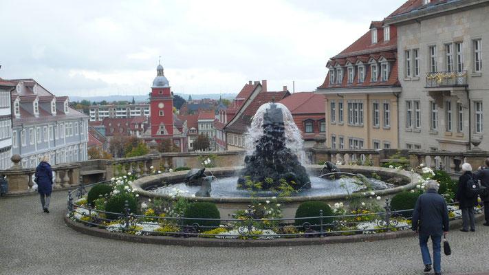 Blick auf die Altstadt von Gotha - Foto: Klaus Leven
