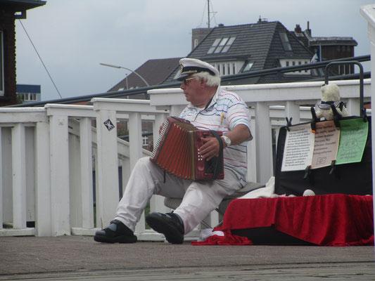 Musikant an der Alten Liebe