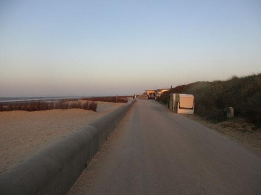 Fußgänger Strandweg