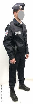 Uniforme Police blouson hiver + calot