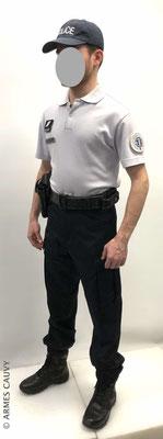 Uniforme Police polo manches courtes
