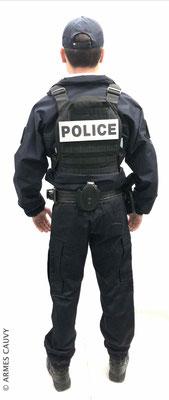 Uniforme Police coupe vent + gilet balistique