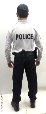 Uniforme Police polo manches longues