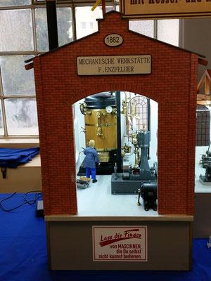 Die 'Dampfkraftanlage' der Maschinenwerkstatt