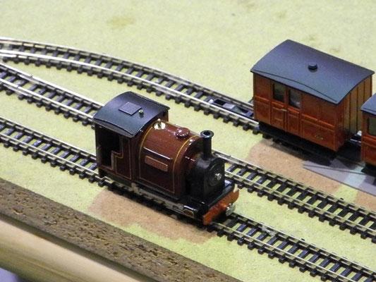 H0e Echtdampflokomotive