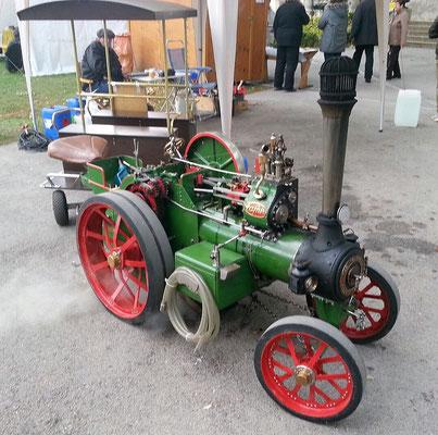 Dampftraktor von F.&F. Enzfelder