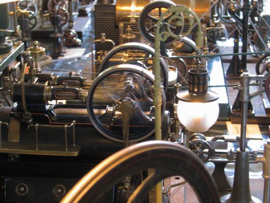 Klassische Dampfmaschinensammlung